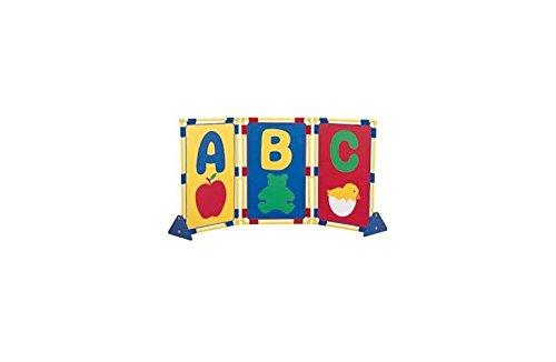 (3 Pc Alphabetical Item Playpanel Set)