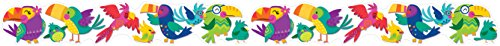 Eureka Colorful 'You Can Toucan' Birds Bulletin Board Trim and Classroom Decoration for Teachers, 12pc, 3.25'' W x 37'' L (You Toucan Can)
