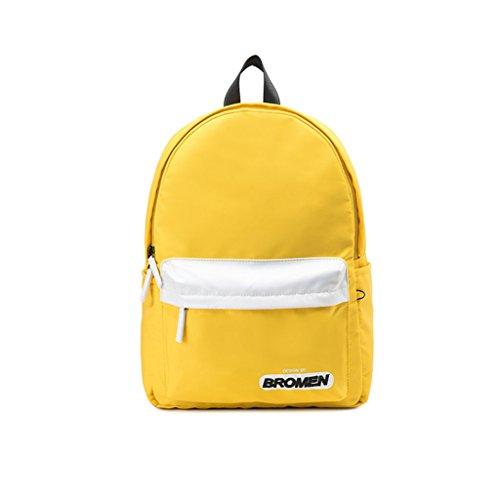 Travel Bag High Capacity Of Women's Fashion Backpack School Bag Nylon Student (color: # 3) # 3