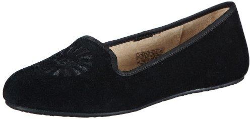 UGG W Alloway 1001632 Damen Slipper Schwarz (Black)