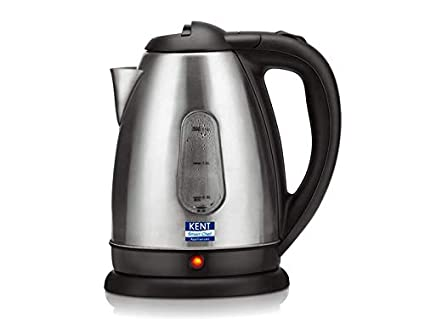 Kent 16026 1.8-Liter Electric Kettle (Silver)