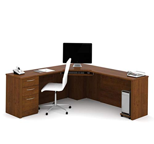 Embassy Pedestal - Bestar Corner Desk with Pedestal - Embassy