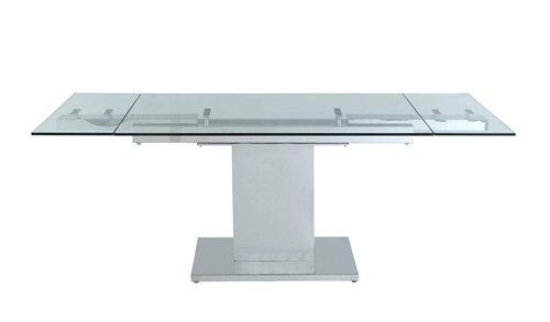 World Mod DT1233 Modern Slim Extendable Dining Table