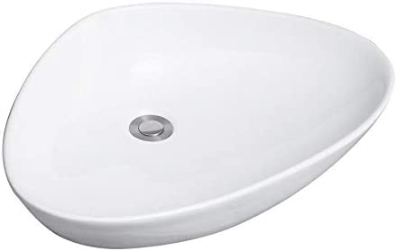 洗面ボール 浴室の容器シンク舟形キャビネット洗面化粧台については、上記カウンターセラミックカウンターシンク 洗面器 (Color : White border, Size : 59x39x14cm)
