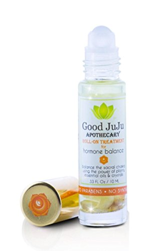 All Natural Hormone Balance Roll On Oil. Therapeutic Relief From Menstrual Period and Menopause Symptoms, Cramps, PMS, Bloating and Hot Flashes. Organic Essential Oils and Moonstones . Safe For Teens.