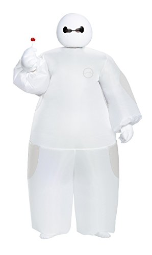 Baymax Costume Toddler (UHC Boy's Big Hero 6 Baymax Outfit Kids Fancy Dress Halloween Costume, Child OS)