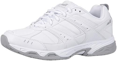 Avia Men's Avi-Union II Food Service Shoe, White/Chrome Silver, 9 Medium US