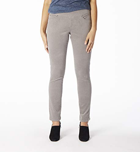 (Jag Jeans Women's Nora Skinny Pull on Corduroy Pant, Alloy,)