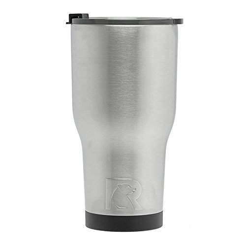 (RTIC (191) Double Wall Vacuum Insulated Tumbler, 30 oz, Stainless Steel)