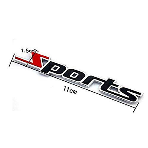 Metal Sports Car Standard Metal Sports Car Sticker Modified Car Standard Strong Sense of Movement Car Body Decoration