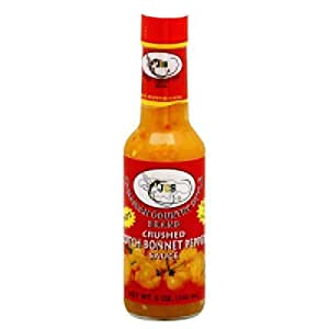 JCS Scotch Bonnet Pepper Sauce 5 oz