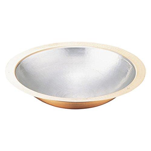 マル新銅器 銅うどんすき鍋 39cm   B07418KL97