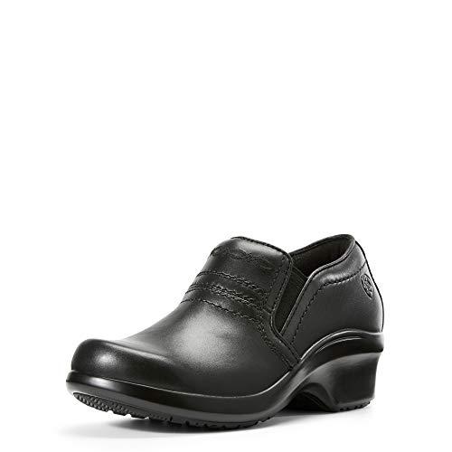 ARIAT Women's Expert Clog ESD Black Size 6.5 B/Medium Us (Clogs Leather Ariat)
