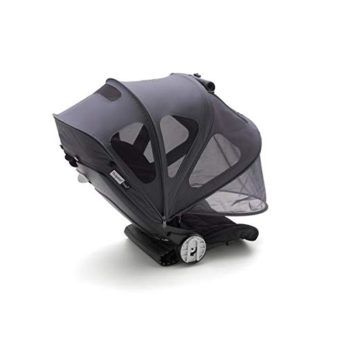 Bugaboo Bee5 Breezy Sun Canopy- Extendable Sun Canopy with Mesh Ventilation Panels, Made with Reflective Materials for Nighttime Strolling - Bugaboo Canopy Sunshade
