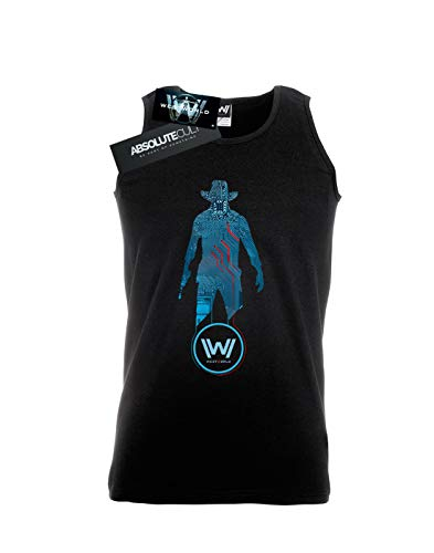 Homme Absolute Cult Tank Man Digital Black Top In Westworld Noir qFpF4wxg