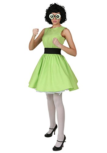[Fun Costumes womens Plus Buttercup Powerpuff Girl Costume 2X] (The Powerpuff Girls Costumes)