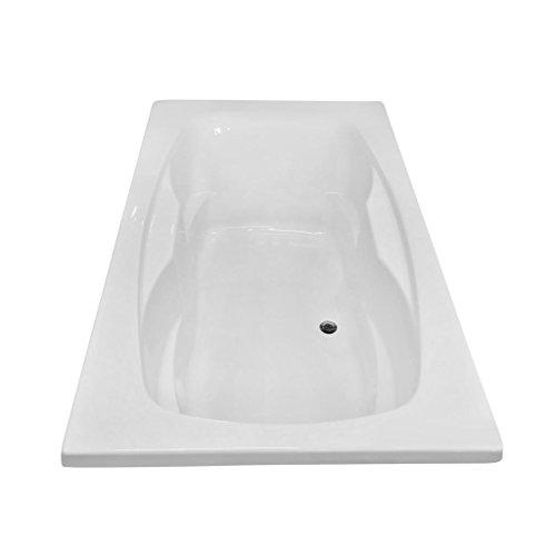 Carver Tubs - AR7242 - Drop In Acrylic Soaking Bathtub - 72