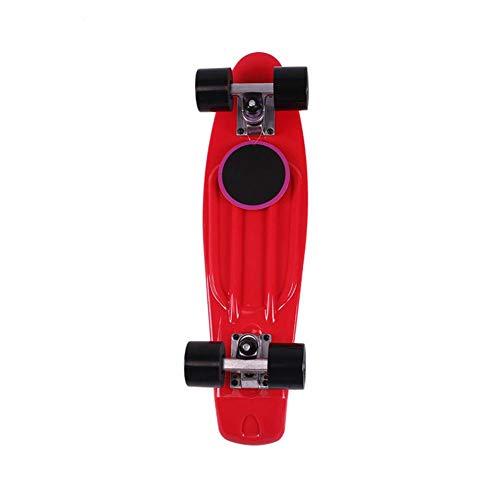 Mini Fish Skateboard Street Four-Wheel Street Banana Long Skate Board Mini Cruiser Fish Outdoor for Adult Or Children 8 -