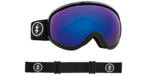 Electric Masher Goggle - 2018 Gloss Black / Brose Blue Chrome + 50% - Sunglasses Shop Coupon