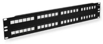 PATCH PANEL, BLANK, HD, 48-PORT, 2 RMS Computers, Electronics, Office Supplies, Computing by WMU