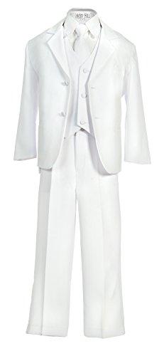Avery Hill Boys Formal 5 Piece Suit Shirt Vest WH 2T
