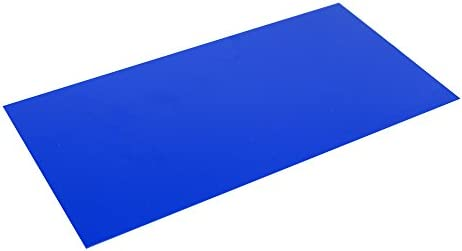 G10 Spacer 5 X 10 X 1 32 Handle Material for knife making gun making, Blue