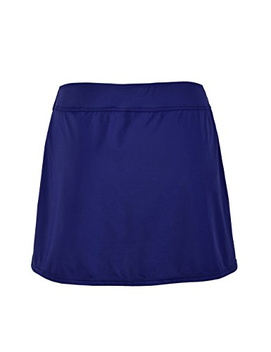 86294634839 ninovino Women s Skirted Bikini Bottom High Waisted Solid Color Swim Skirt