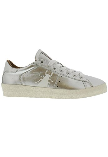 Fly London Women's Berg823fly Low-Top Sneakers Silver rxdKN