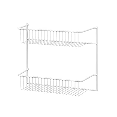 ClosetMaid 8002 2-Tier Wall Rack, 12-Inch Wide
