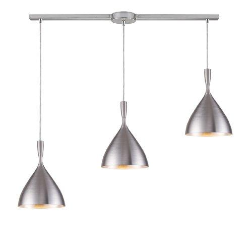 Spun Aluminum Pendant Light - 1