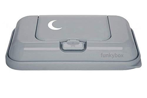 funkybox FB47 Feuchtt/ücher Aufbewahrungsbox Magic dunkelgrau