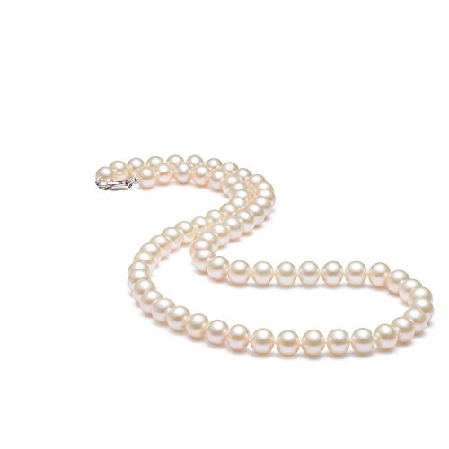 Pandahall 1Strand 10mm Cream Color Glass Imitation Pearl Beads Round Ball Loose Beads for Jewelry Necklace Earring Craft Making 85pcs/Strand ()