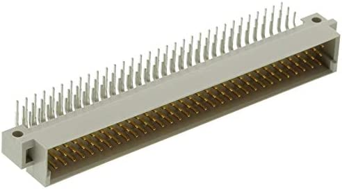 96 Contacts 2.54 mm 3 Row, Type C Series 09031964921 Receptacle DIN 41612 Connector Pack of 2