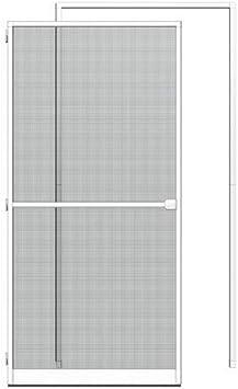 Insektenschutztür Alu-Fliegengittertür 100x210 weiß