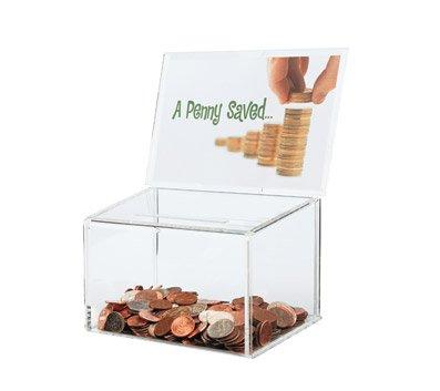OfficeMax Ballot/Coin Box ()