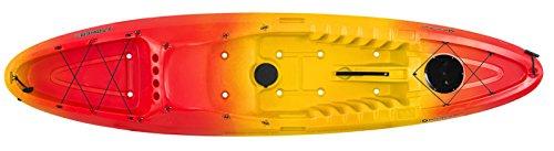 Perception Striker 11.5 Kayak, Red/Yellow