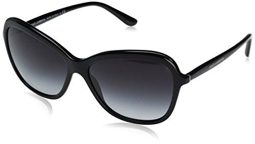 Dolce & Gabbana Women's Acetate Woman Square Sunglasses, Black, 59.0 - Gabana Frames Dolce And