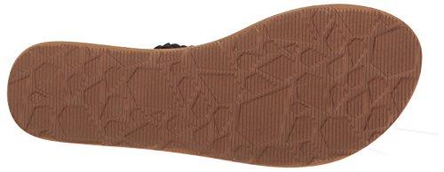 Brown Volcom Sndl Fishtail Black Fishtail Sndl Volcom Brown 6xgwntZq