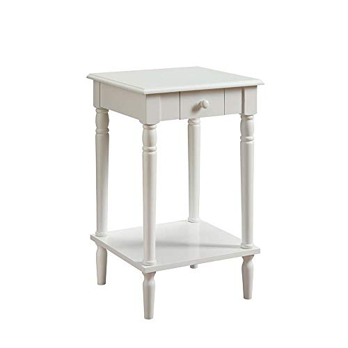 Convenience Concepts French Country End Table, - Finish End Table Newport
