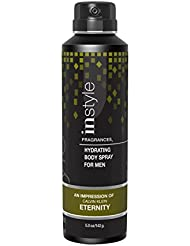 Instyle Impression of Eternity Men's Body Spray, 5 Ounce (Pack of 12)