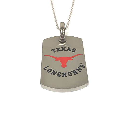 Texas Longhorns Titanium Dog Tag - Tag Sports Titanium