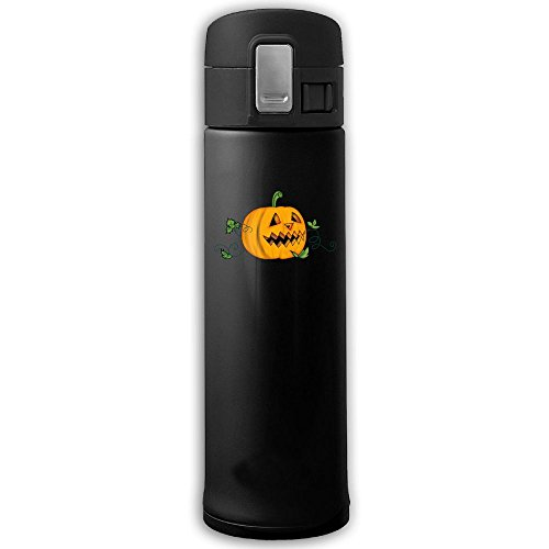 Halloween Creepy Pumpkin Insulation Vacuum Cup Bouncing Cover Stainless Steel Mug Bottle Coffee Thermos -