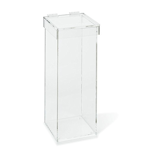 Acrylic Waste Container with Lid by CeilBlue