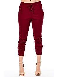 Red Fox De la Mujer de Sarga Jogger Pants