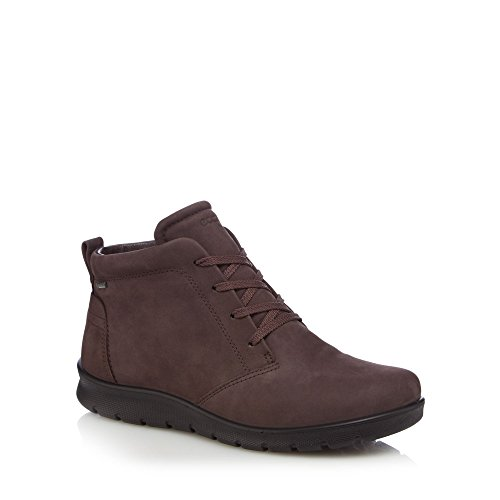 ECCO Womens Brown Leather 'Babett' Lace-up Boots 1NAakfcH
