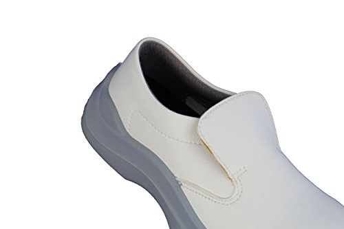 jallatte jalneva S3HRO SRC Laboratorio Guantes Médico plano color blanco Blanco - blanco