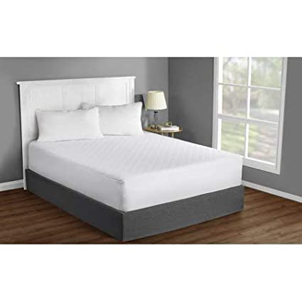"""MAINSTAYS Mattress Protector Bed Cover Pad Super soft 39/'/'x75/'/' TWIN 15/"""" deep"""