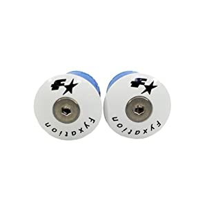 Fyxation Bar End Plugs, White