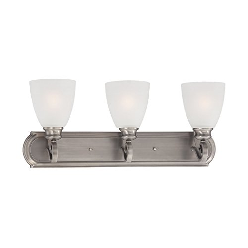 Haven Wall Lamp Satin Pewter 3X100W 120