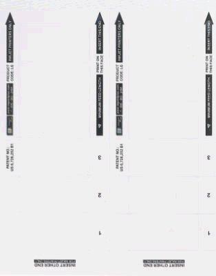 Imprint Promotions PK-IN-ILG-O5-TV 5 Pack LG Badge Inserts